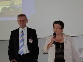 Renate Kühlcke, Chefredakteurin der afz